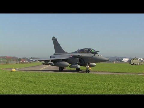 Dassault Rafale Evaluation TTE at Emmen Airbase 2008 Part 2/2