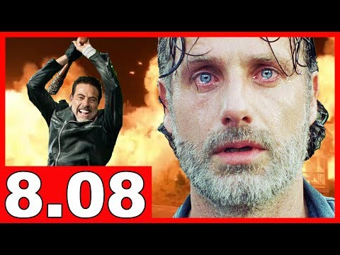 🔴 THE WALKING DEAD STAFFEL 8 FOLGE 8   Talking Dead auf Deutsch - Folgenbesprechung   Serienheld