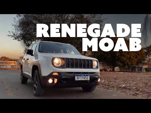 JEEP RENEGADE MOAB: O SUV DIESEL MAIS BARATO DO BRASIL!