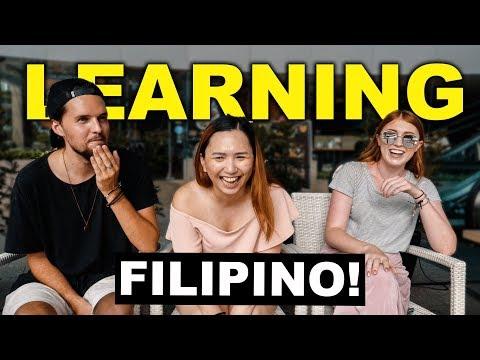 Filipina Subscriber Teaches us FILIPINO LANGUAGE!
