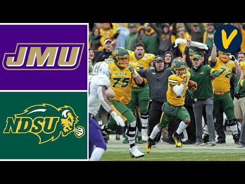 James Madison Vs North Dakota State Highlights | 2020 FCS Championship Highlights | College Football