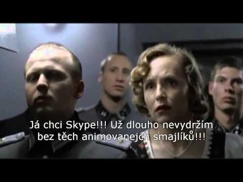 Hitler zjistil, že na Skype potřebuje počítač