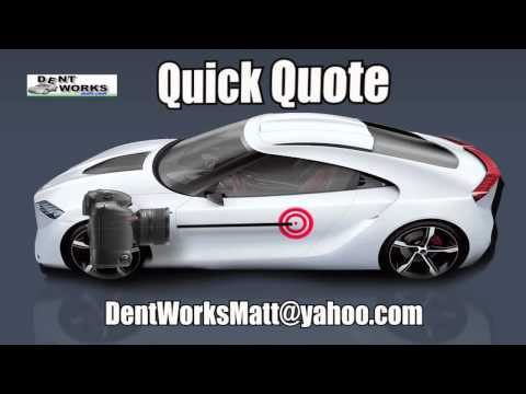 Sacramento Dent Repair Estimate PDR | Bumper Scratch Repair Quotes in Sacramento