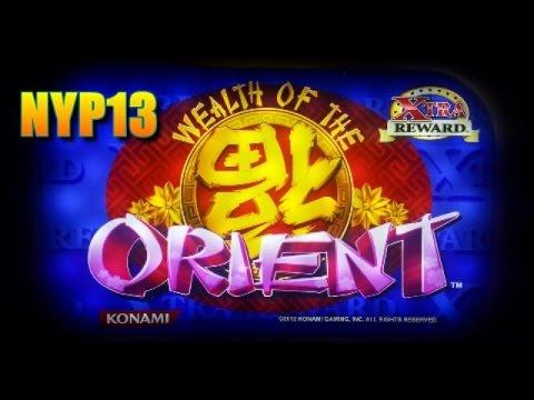 Konami - Wealth of the Orient Slot Bonus BIG WIN