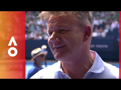 Boris Becker and Gordon Ramsay face off | Australian Open 2018