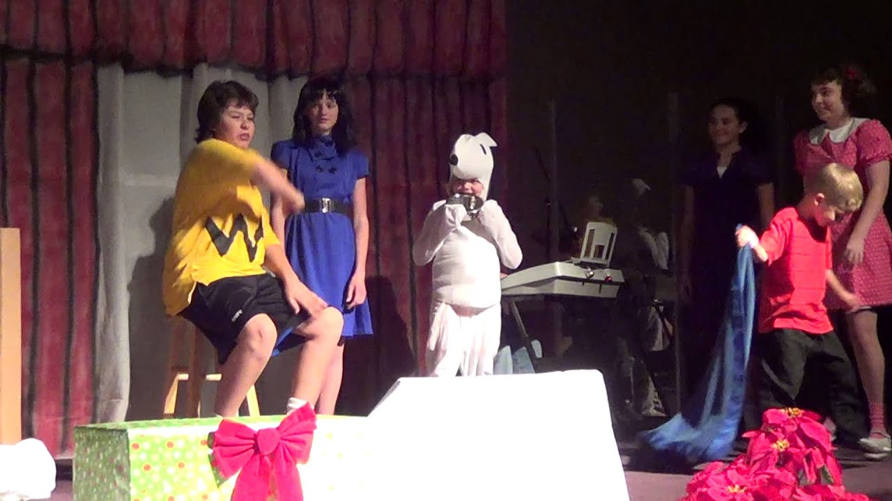 Baytown Homeschoolers Charlie Brown Christmas Play - YouTube