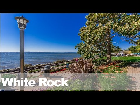 White Rock City BC - Aerial tour!  + homes for sale in White Rock right NOW.