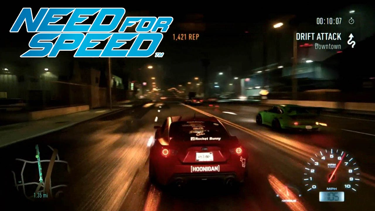 need for speed ps4 xb1 pc gameplay demo e3 2015 1080p hd youtube. Black Bedroom Furniture Sets. Home Design Ideas