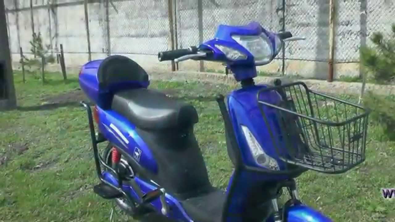 Электровелосипед Azimut FLH 001 48v/350w за 460 у.е честный отзыв .