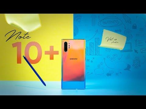 Đánh giá chi tiết Samsung Galaxy Note 10+