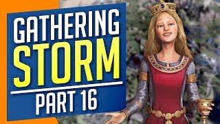 """Civilization VI: Gathering Storm   MORE GIANT """"PEACE"""" ROBOTS (#16)"""
