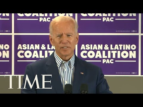 Joe Biden: 'Poor Kids Are Just As Bright' As White Kids At Event For Asian & Hispanic Voters | TIME