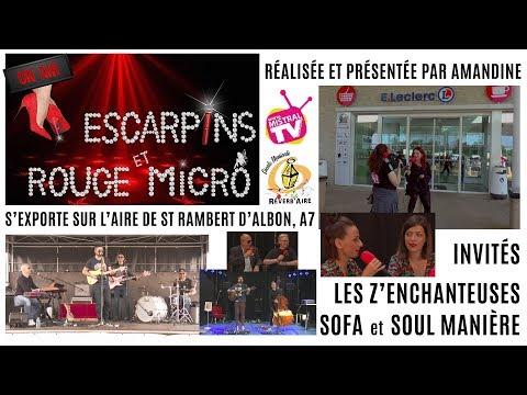 Escarpins et Rouge Micro à Réverb'Aire Mai 2018