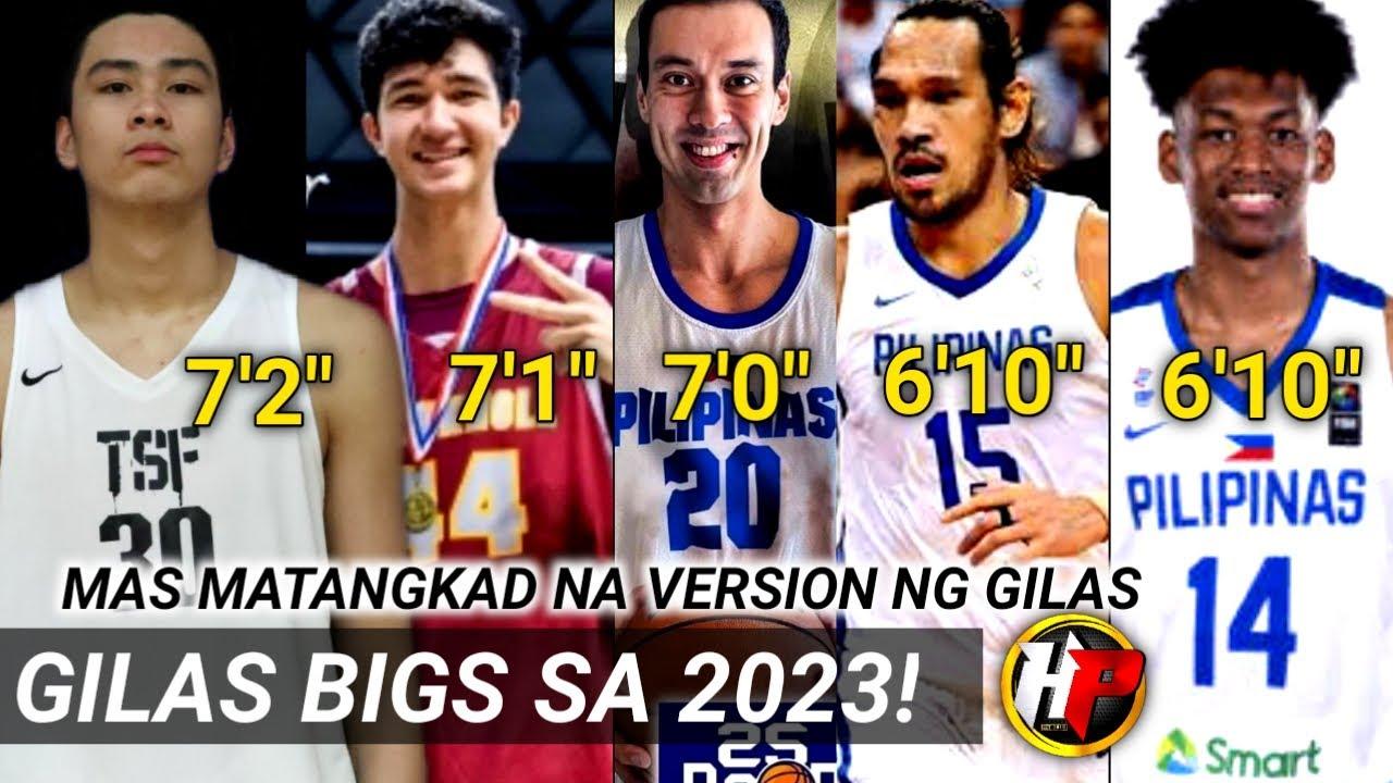 Ang FUTURE BIG'S posible line up ng PILIPINAS sa FIBA WORLD CUP 2023!| Tatlong 7 footer!