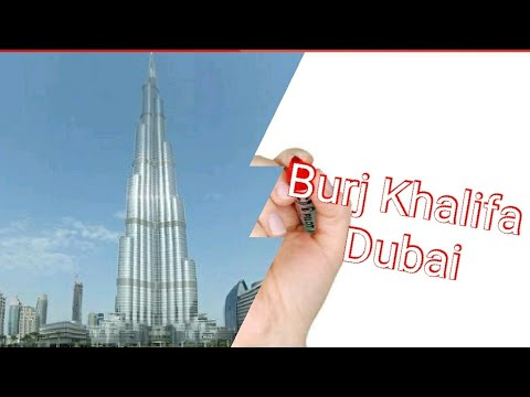 Burj Khalifa Dubai Very Very Beautiful Graphics Show 2019
