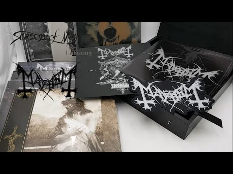Mayhem - A Season In Blasphemy (2018) Unboxing Video Mp3