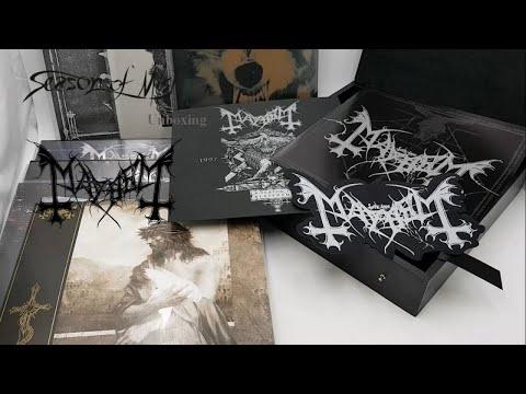 Mayhem - A Season In Blasphemy (2018) Unboxing Video
