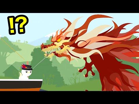 伝説のドラゴンを釣り上げちゃった神のネコ#9【 Cat Goes Fishing 】