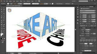 How to Apply Text to the Perspective Grid in Adobe Illustrator