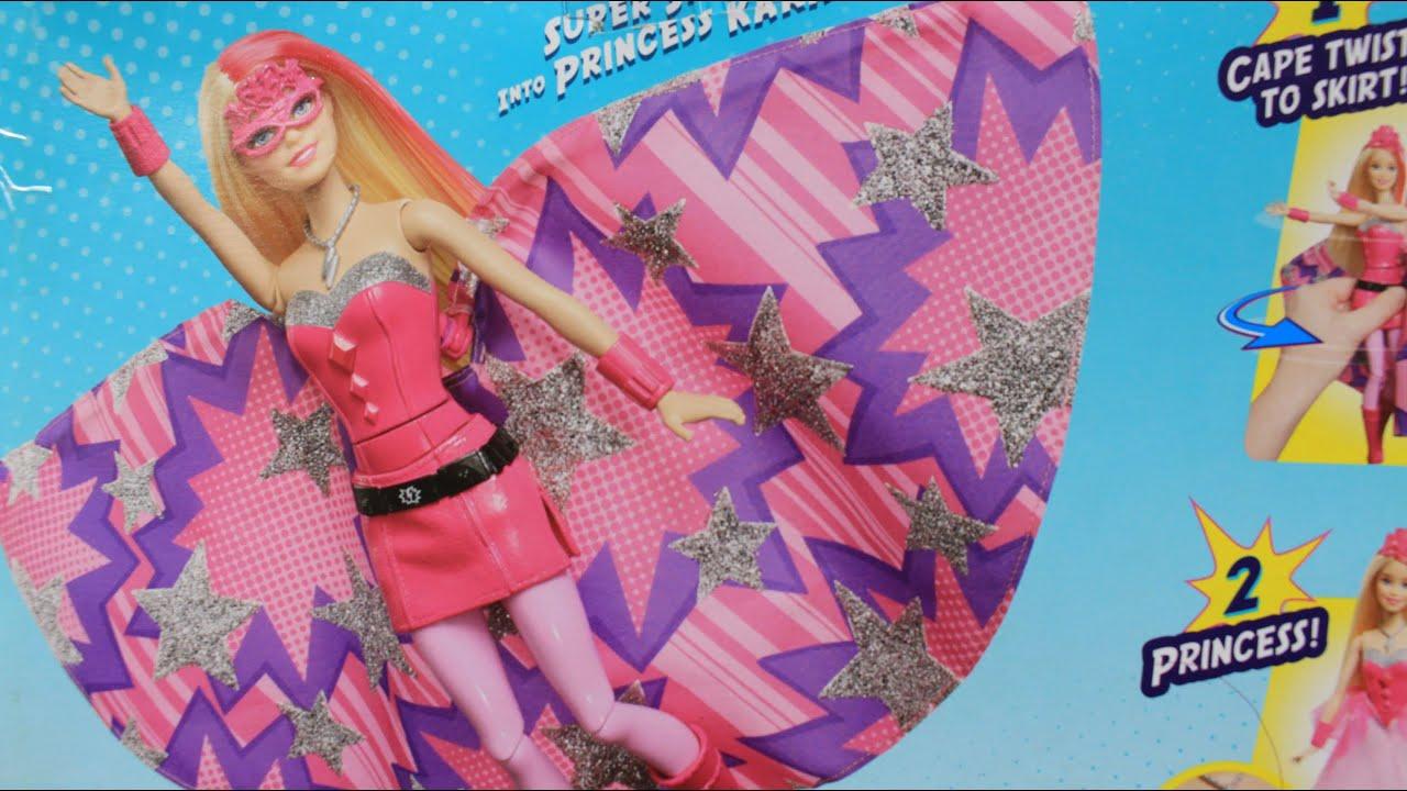 Кукла Барби русалка меняет цвет волос от прикосновения льда .