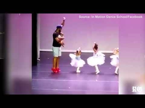 Tony Sandoval on The Breeze - Devoted Dad Dances With 2-Year-Old Daughter to Ease Her Stage Fright