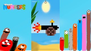 Fun Pirates Part 1 Puzzles - DragonBox: Numbers (iPad, iPhone, Android). Fun game for kids.