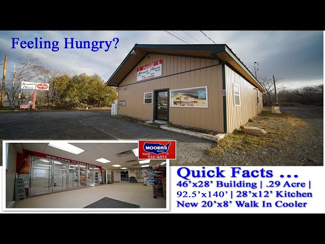 Convenience Store Take Out Food Property Listing | 135 Military ST Houlton ME MOOERS REALTY #8990