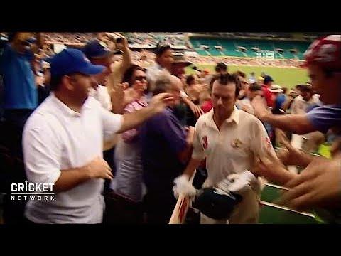 Emotions run high as Steve Waugh ends career