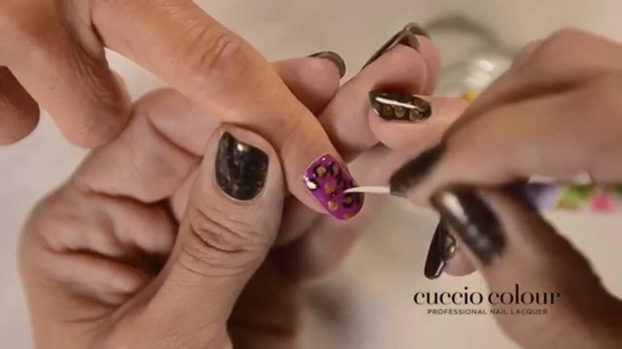 Cuccio Colour Basic Nail Art Tutorial - YouTube