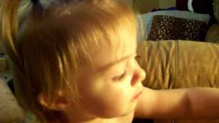 Baby Girl Has to go Potty!  Lilah -