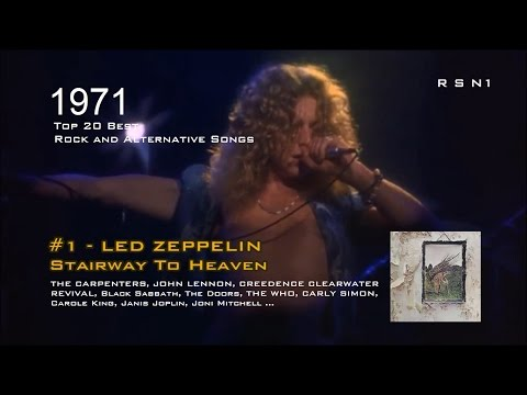 1971 - Top 20 - The Best Rock and Alternative Songs
