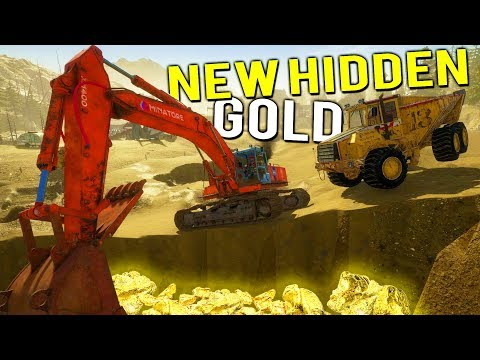NEW SECRET HIDDEN GOLD DEPOSITS? Gold Claim Update - Gold Rush Full Release Gameplay