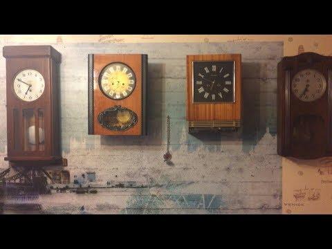 Маятниковые часы СССР/ Орловские часы/ Янтарь/ Rusia RULIT 54