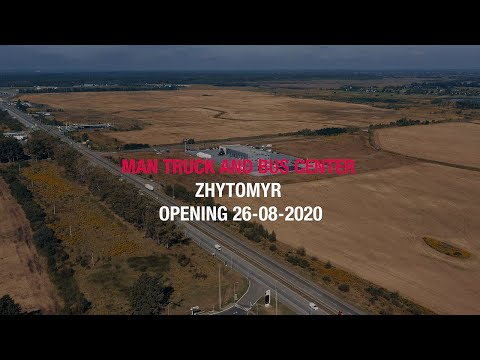Zhytomyr MAN Center opening, Ukraine