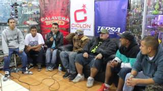 Volcan Fest 2013 Arequipa / Warrior / El Paisa / La Funeraria / Jotak & Pretto /  Rapealo