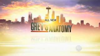 Grey's Anatomy 8x3/Private Practice 5x1 - PROMO