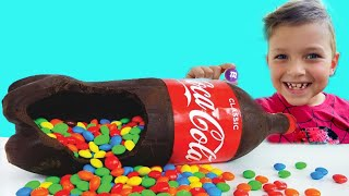 Mark and Toys Chocolate & Soda Challenge for Mom