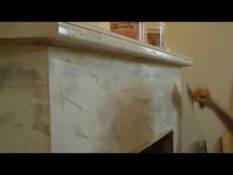 Венецианка-декор камина