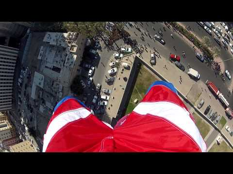 The Chris McDougall Base Jumping from Al Hamra Tower - Kuwait
