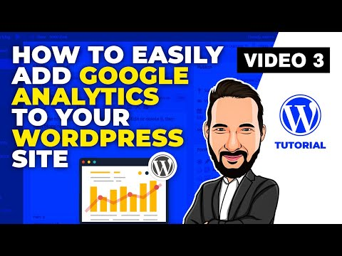 Wordpress Tutorial - How to easily add Google Analytics to your Wordpress website thumbnail