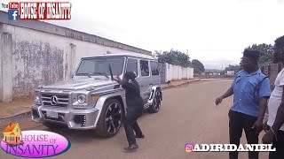 THE POWER OF MONEY IN NIGERIA POLICE LIFE (HOUSE  OF INSANITY COMEDY) (EPISODE 8)l