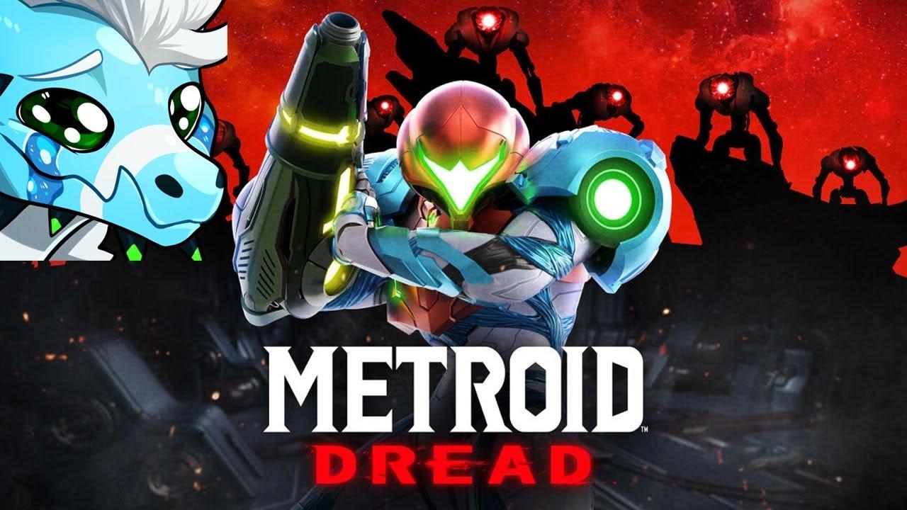 I CRIED - METROID DREAD REVEAL REACTION (METROID 5)