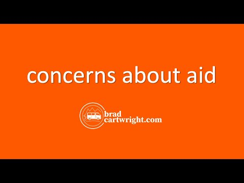 Aid, Debt, and Economic Development Series:  Concerns About Aid