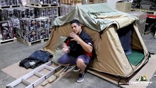 Tuff Stuff Overland Ranger Roof Top Tent Install