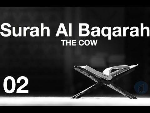 SOUL MOVING QURAN Recitation With English Audio Translation  - Chapter  Al Baqarah (The Cow)