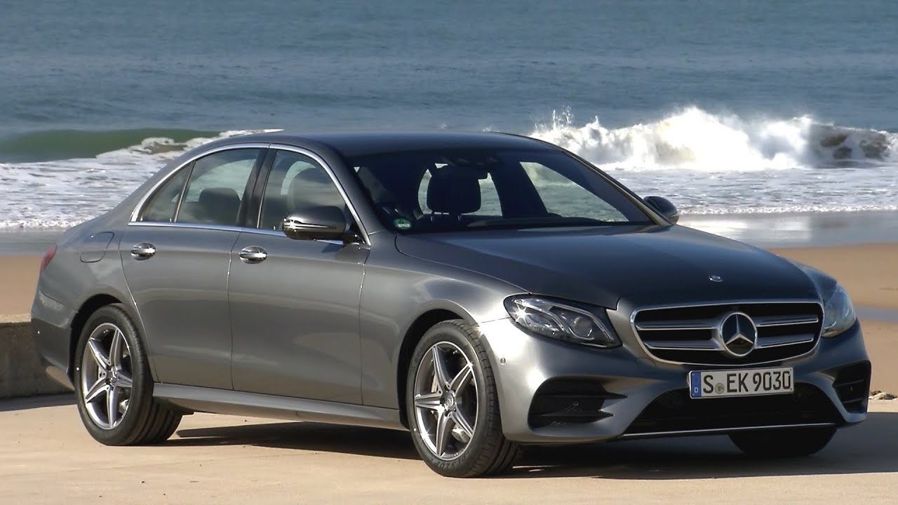 Benz 4matic Car >> 2017 Mercedes E400 4MATIC AMG Line Selenite Grey - YouTube