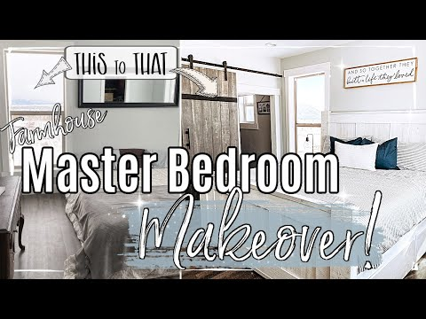 DIY MASTER BEDROOM MAKEOVER :: EPISODE 4 | FARMHOUSE MAKEOVER SERIES 2020