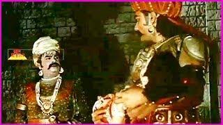 Bhaktha Prahlada Telugu Movie Scene - S. V. Ranga Rao,Anjali Devi