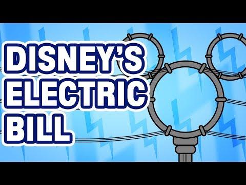 What is Walt Disney World's Electric Bill?