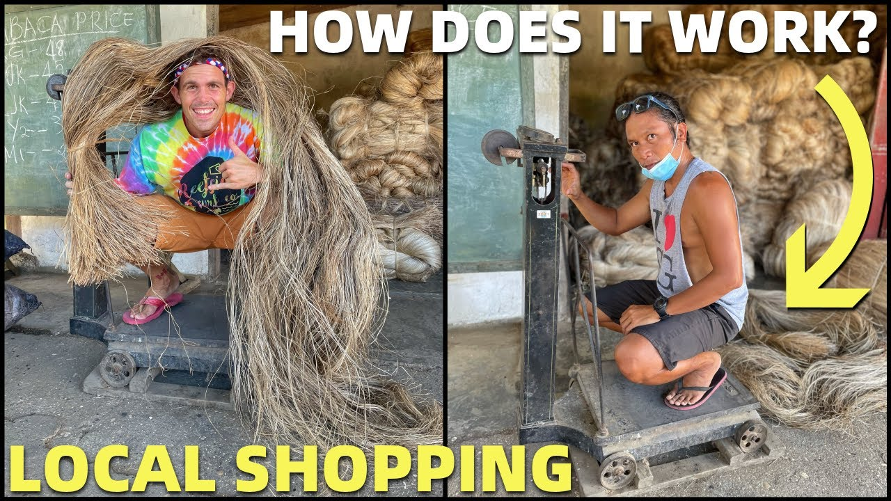 BEACH HOUSE SHOPPING - Buying Local Products For Our Home (ABACA SELLING)